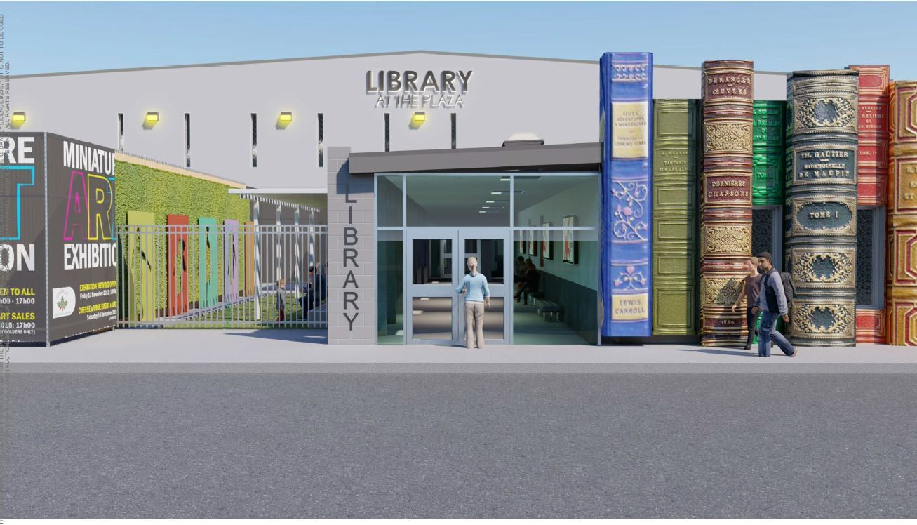 Library Entrance Plan 8