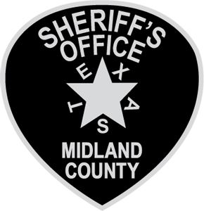 Midlan Sheriffs Office Badge Patch