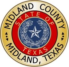 Midland County Midland Texas seal