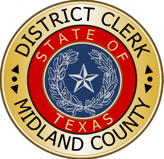 Midland County District Clerk Seal