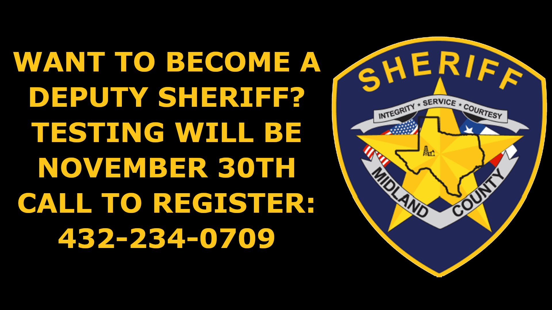 SHERIFF CADET PROGRAM
