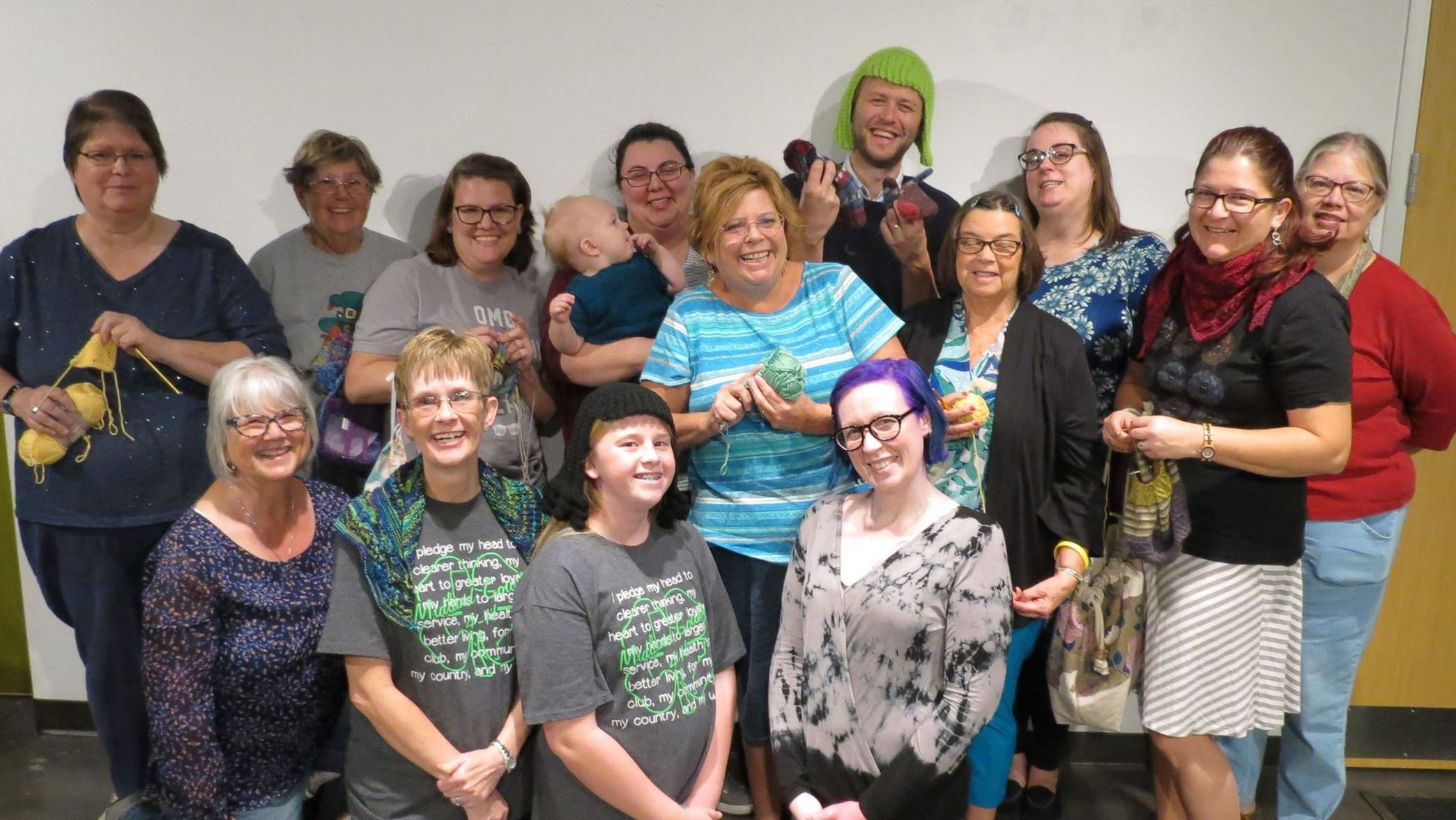 Group Photo of knitting Group